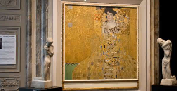Retrato de Adele Bloch-Bauer I – Gustav Klimt