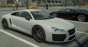 Top 10 carros encontrados no GTA V