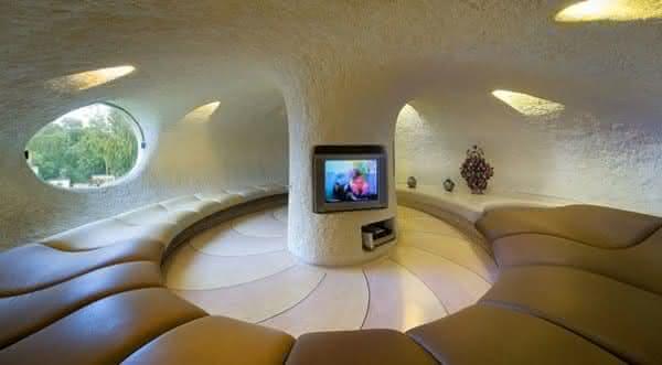 casa em uma concha gigante 2