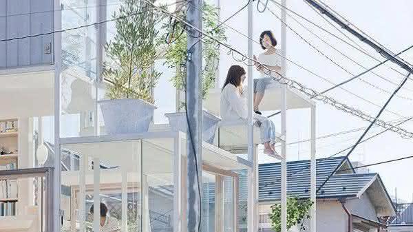 casa mais criativa do mundo transparente