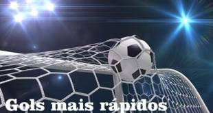 top 10 gols mais rapidos do mundo
