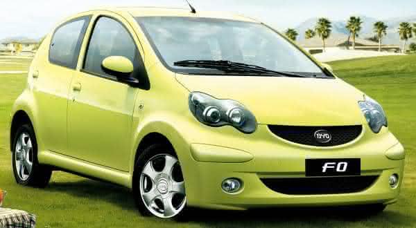 c9ac2f07067 Byd F0 2014 entre os carros mais baratos do mundo