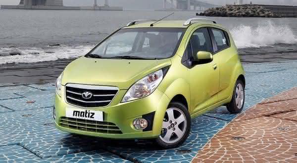 23112a23619 Daewoo Matiz entre os carros mais baratos do mundo