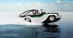 Top 10 incríveis carros anfíbios
