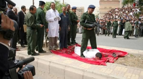 execucao sem julgamento ieme entre os paises com as mais terriveis penas de morte