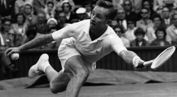 Rod Laver entre os melhores tenistas de todos os tempos
