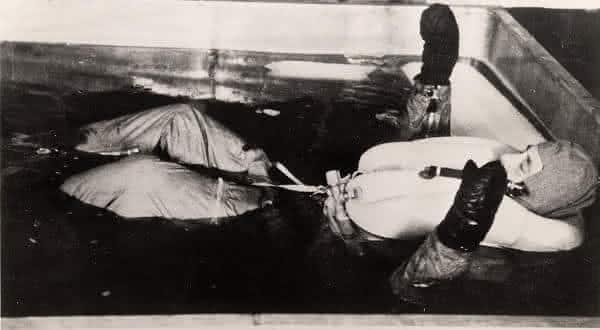 congelamento entre os chocantes experimentos nazistas