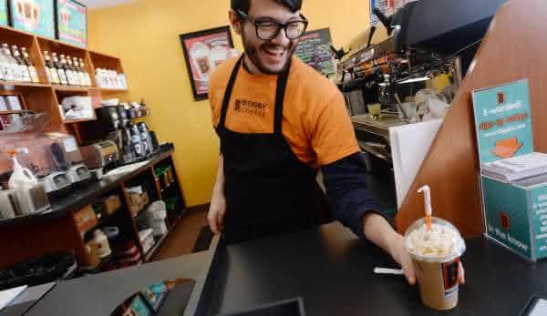 Biggby Espresso produtos de cafe mais fortes do mundo