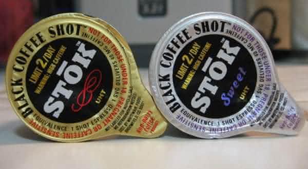 Stok Black Coffee Shots produtos de cafe mais fortes do mundo