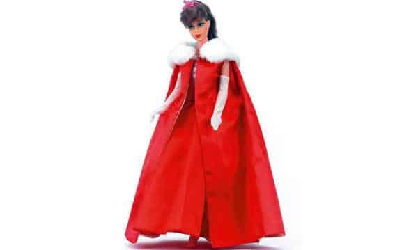 1965 Midnight Red Barbie entre as bonecas Barbie mais caras do mundo