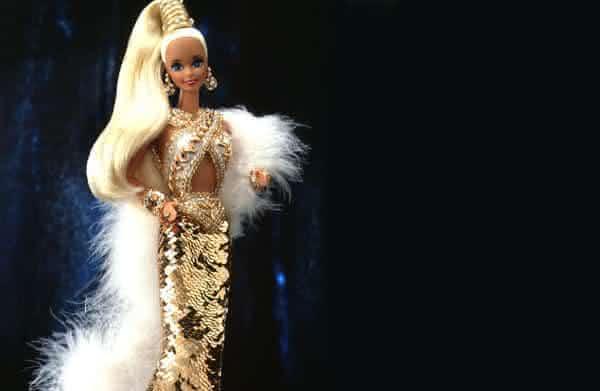Bob Mackie Gold Barbie entre as bonecas Barbie mais caras do mundo