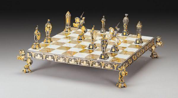Medieval Venice jogos de xadrez mais caros do mundo