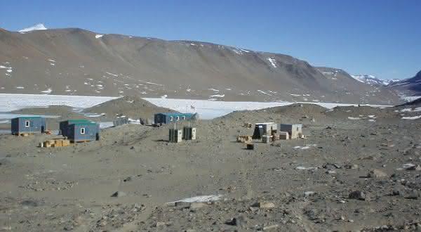 McMurdo entre os lugares mais secos do mundo