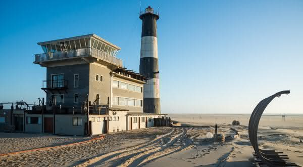 Pelican Point entre os lugares mais secos do mundo