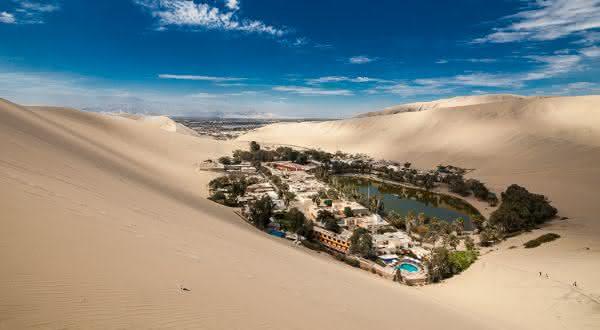 ica entre os lugares mais secos do mundo