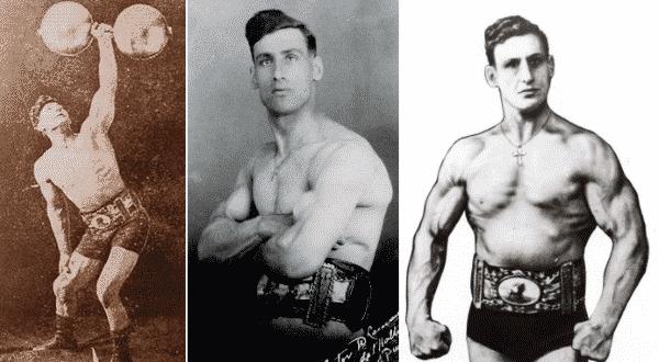 Victor Delamarre entre os homens mais fortes do mundo