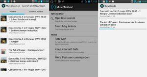 2.- Music Maniac aplicaciones Android para descargar música