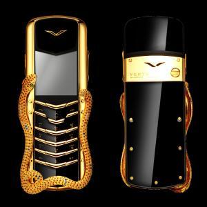 Vertu Signature Cobra celulares más caros del mundo