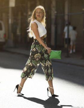 floral culotte