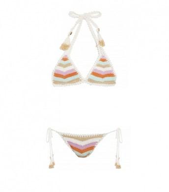 essential triangle halter bikini