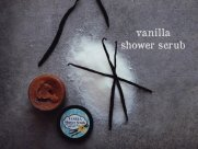 vanilla shower scrub