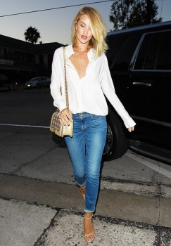 white shirt rosie huntinghton
