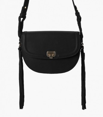 mango fringed cross body
