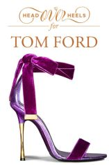 velvet magenta tom ford stilettos
