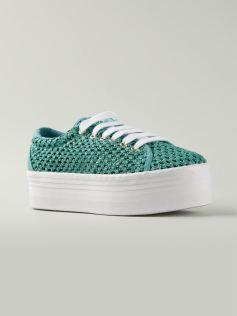 jeffrey campbell mesh sneaker 94$