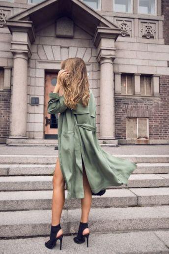 street style army coat