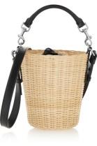 saint laurent panier bag from bamboo