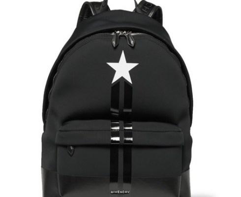 givenchy-stripe-trimmed-neoprene-backpack