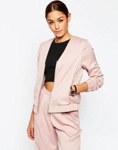 pastel bomber jacket