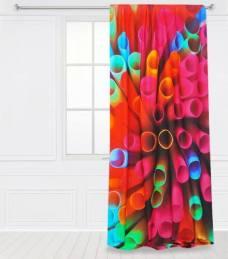 curtaine straws