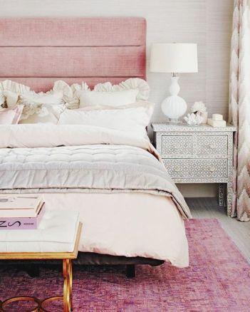 bedroom rose quartz
