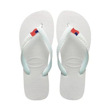 top usa flag flip flop havaianas