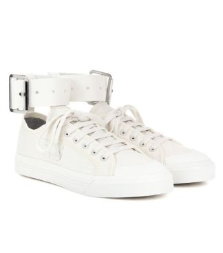 adidas by raf simons spirit buckle canvas sneakers