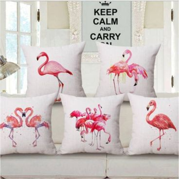 pillows flamingo