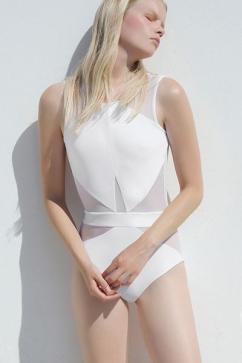 mesh cutouts swimsuits