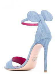 minnie mouse heels sandals