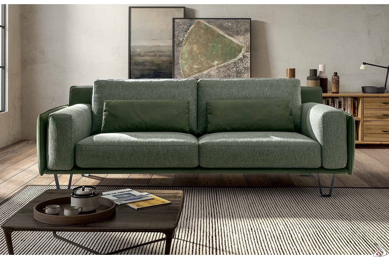 Solero Design And Comfortable Sofa Toparredi - Divano 4 Metri Lineare