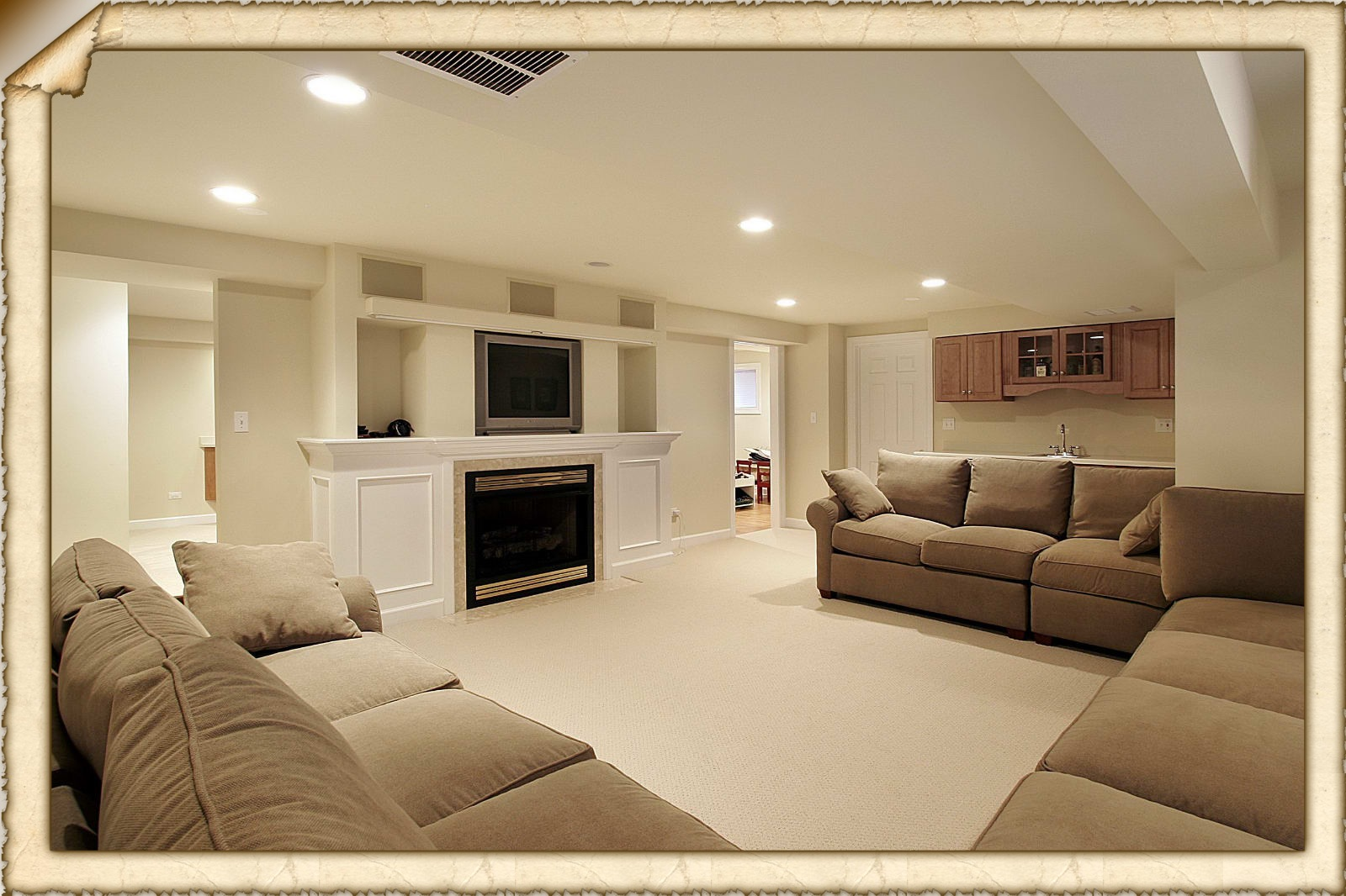 Remodeling Basement Ideas Easy To Follow Finished Basement Ideas Basement Bar Ideas