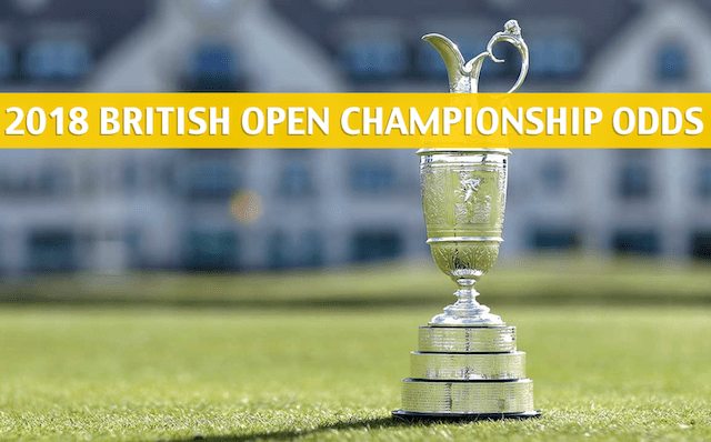 british open betting odds 2018