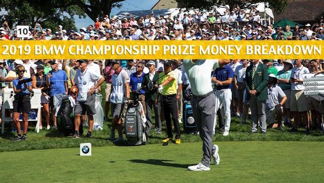 bmw pga championship prize money breakdown