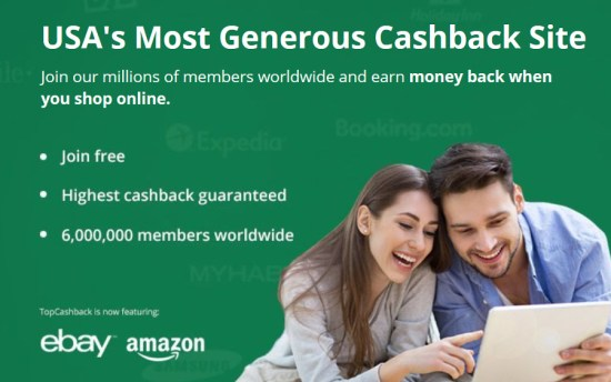 TopCashback USA-hp3