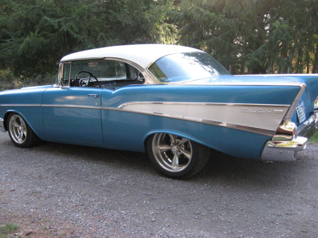 1957 Chevrolet Belair 2Dr HT for sale photos, technical
