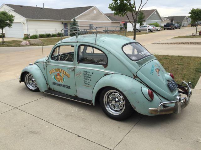 1963 Volkswagen Beetle Bug Rare Vintage Rat Rod Lowered Custom for