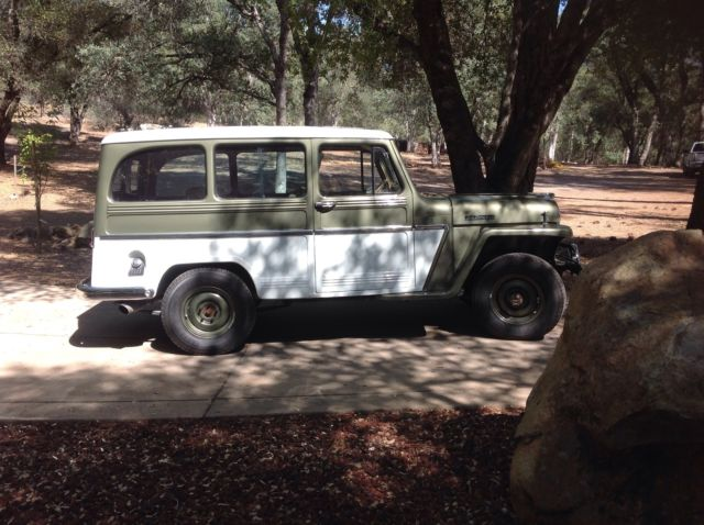 1963 Willys Jeep Station Wagon for sale photos, technical
