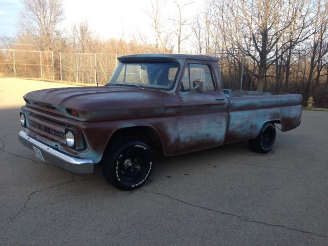 1966 Chevy C10 Patina Rat Rod for sale photos, technical