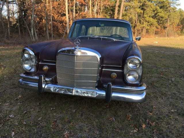 1967 Mercedes 230S Running RARE Find! Coveted Perfect to restore